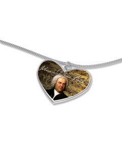 Bach Herz mit Kette