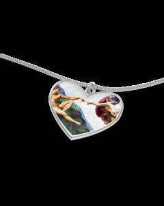 Michelangelo Herz mit Kette