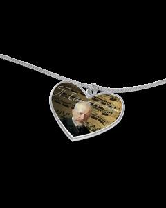 Tschaikowski Herz mit Kette